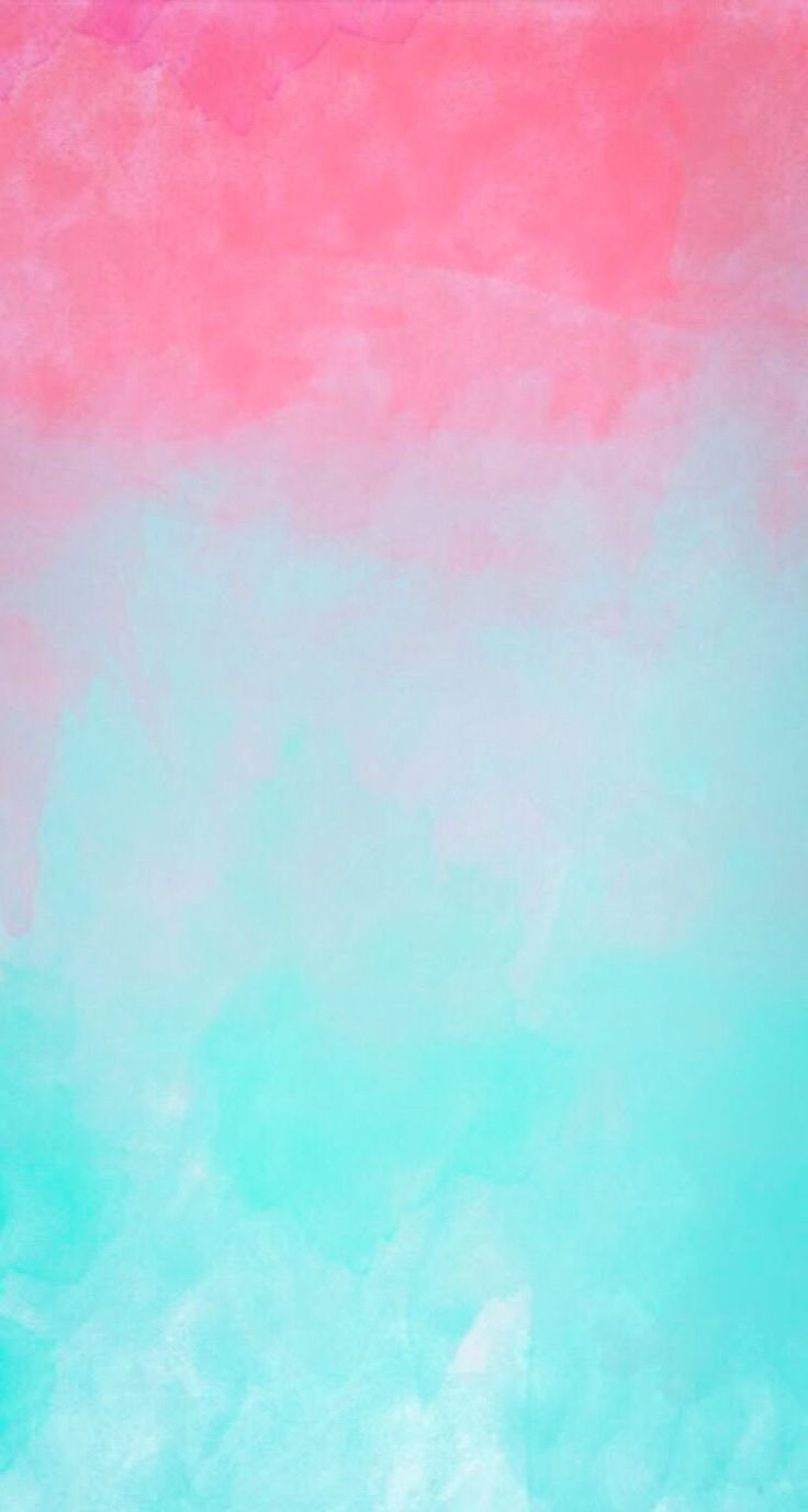 Ombre watercolor iPhone Wallpapers Pinterest