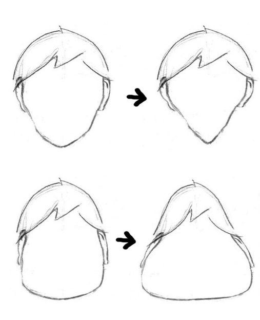 como aprender a dibujar caricaturas a lapiz paso a paso 3
