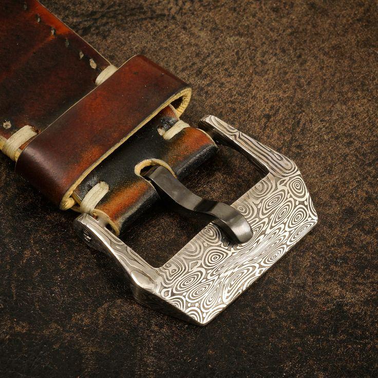 24mm Damasteel Watch Buckle