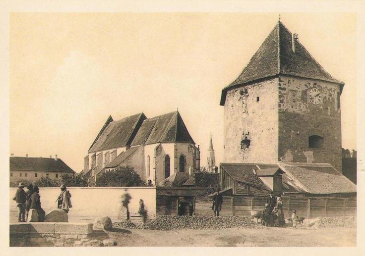 Cluj , Bastionul Croitorilor anul 1890