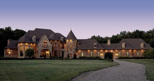 Old World European House Plans Awesome Michigan Luxury Home Designs Michigan Custom Home In 2020 French Country House Plans Country House Plans French Country House