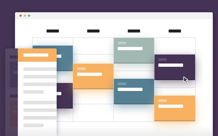 Schedule Template – Display events on a timeline (CSS, jQuery)
