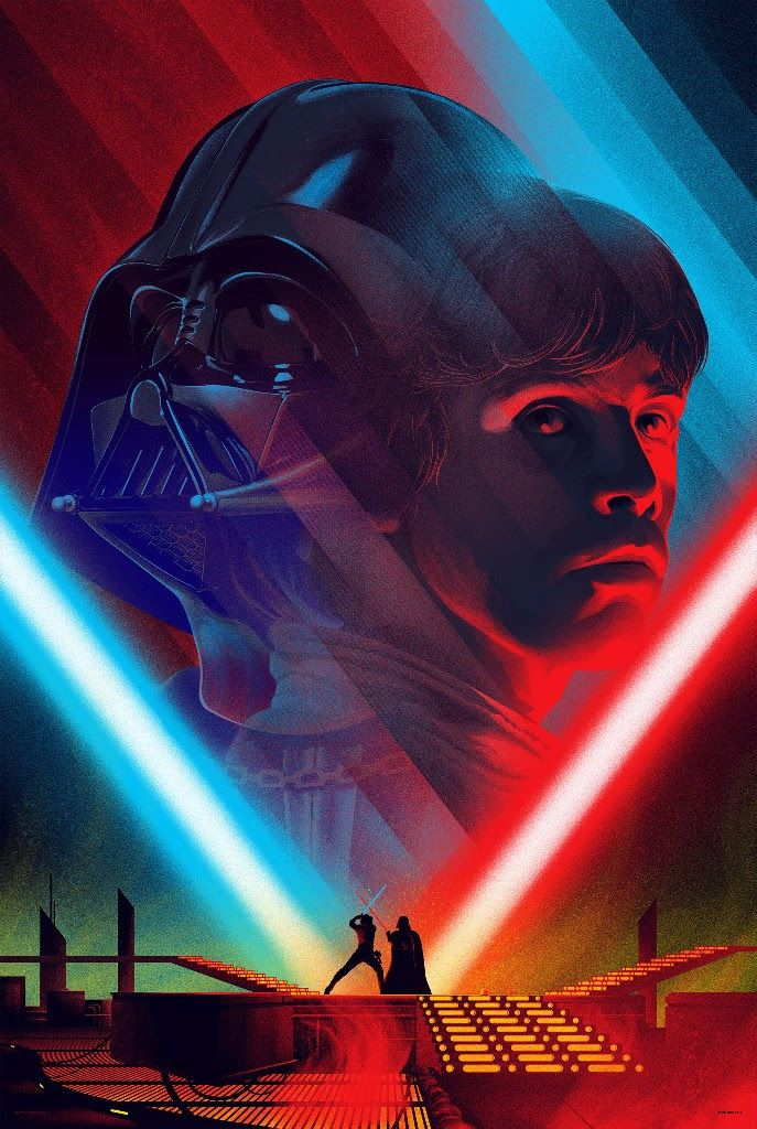 Star Wars Prints by Kevin Tong from Mondo (Onsale Info)