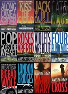 james patterson books My favorite Author!  I have read all his Alex Cross books.  Reading his newest one now.