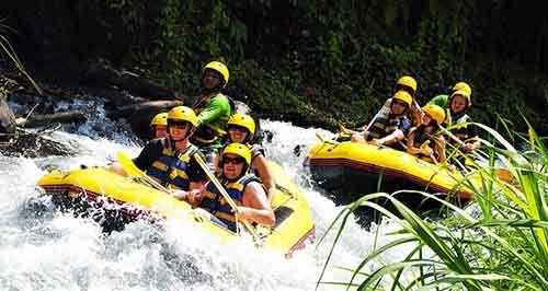 Bali White Water Rafting Adventure Tour | Bali Rafting Package