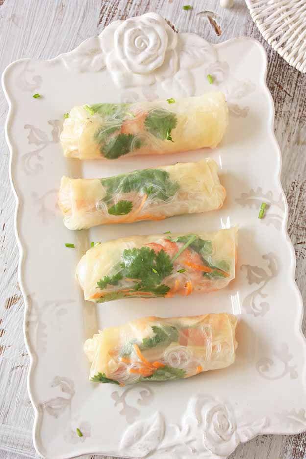 Spring Roll Recipe | DIY Finger Foods