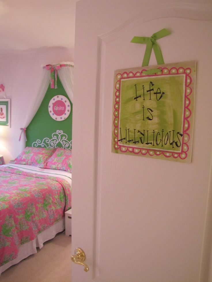 36 best Lilly bedroom images on Pinterest | Lilly pulitzer ...