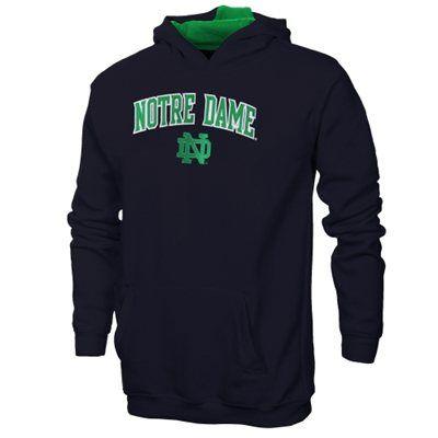 Notre Dame Fighting Irish Game Day Hoodie - Navy Blue