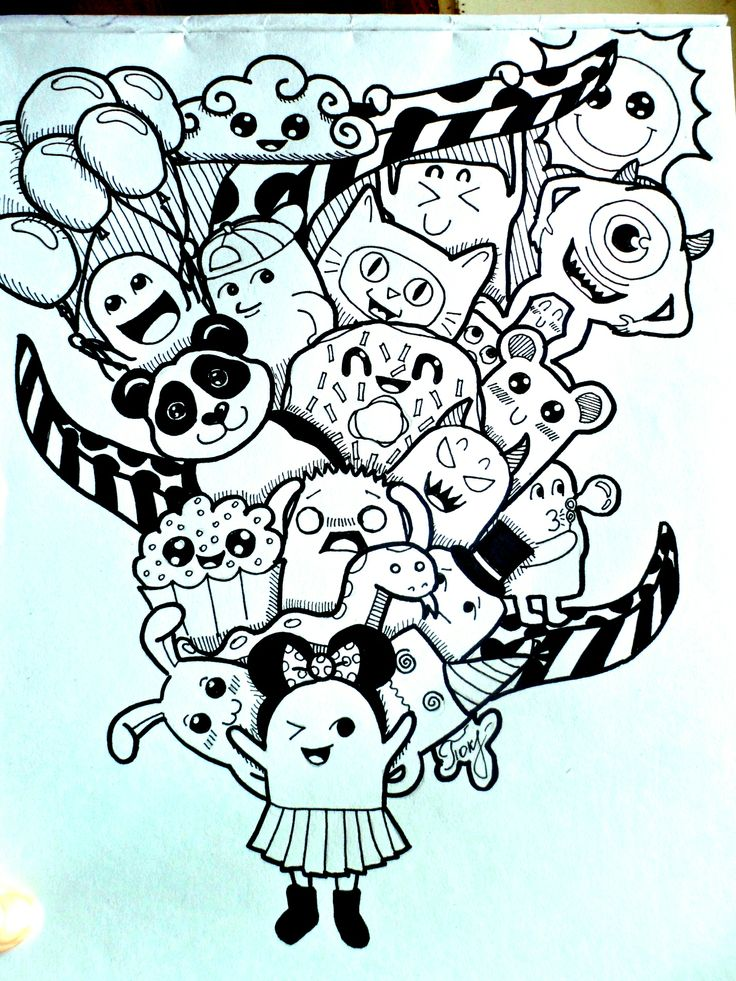 337 best images about zentangles doodles drawing on for Doodle art monster