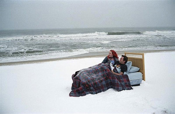 ETERNAL SUNSHINE OF THE SPOTLESS MIND: Michel Gondry again.  his approach to special effects fascinates me, and the surreality of Charlie Kaufman's script allows for so many scenes that just keeps your eyeballs on the edge of their seats (your eyelids, I guess). & Kate's hair, I just love it!