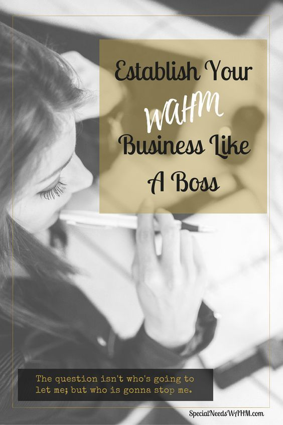 Start your WAHM online business in blogging, or as a virtual assistant, or web designing or any other entrepreneur and have more time for your special needs child