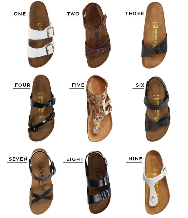 A round-up of nine Birkenstock sandals to wear on your next trip. …
