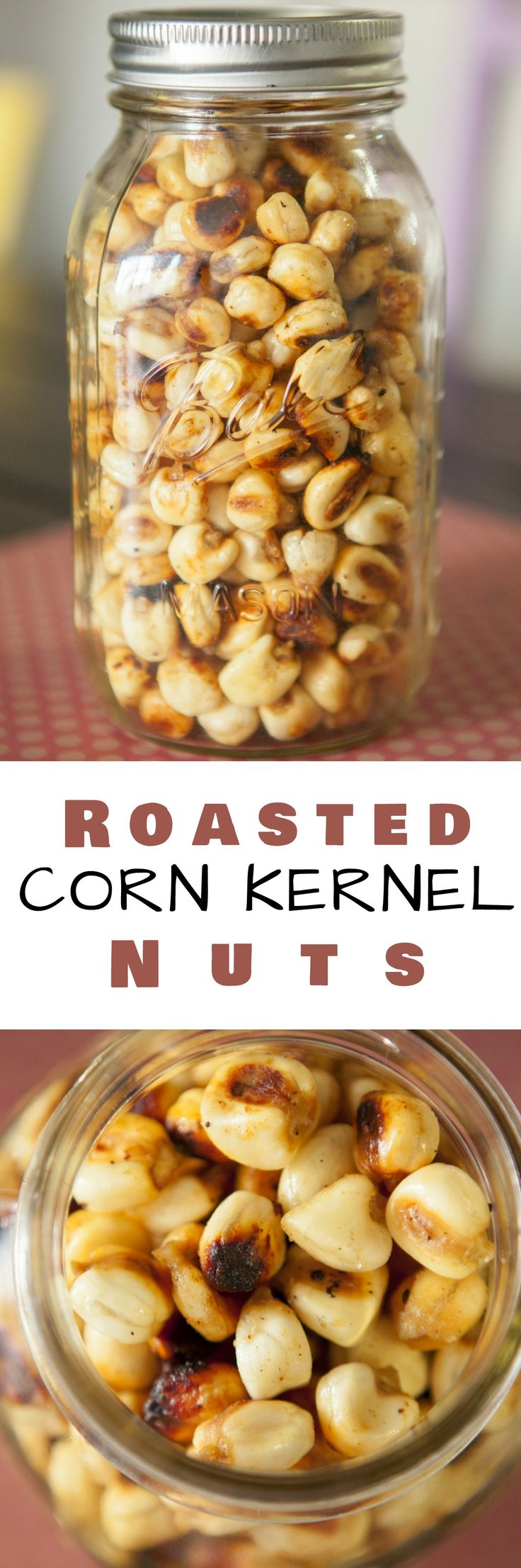 Now you can make Roasted Corn Kernel Nuts at home!  This is a delicious and easy to make recipe!
