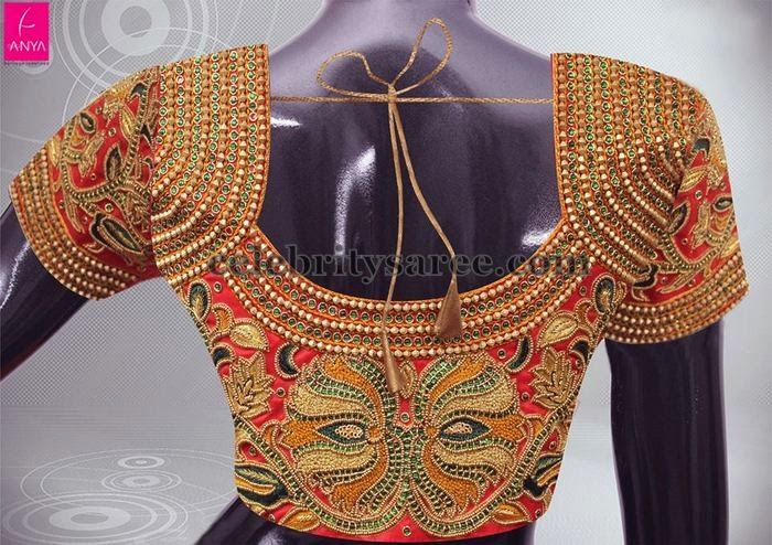 Exclusive Blouse by Anya Fashions | Saree Blouse Patterns