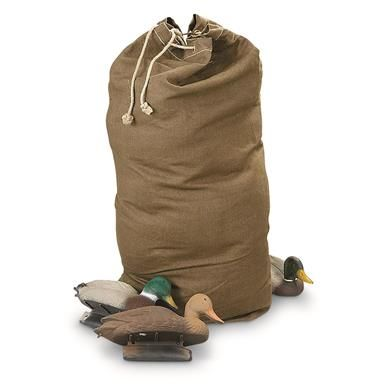 Czech Military Surplus Oversized Duffel Bag, Used