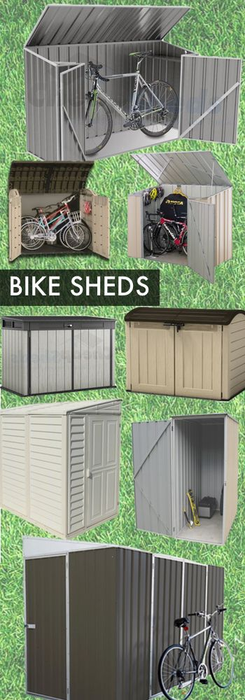 Bike storage is a hot topic at the moment and finding safe and secure storage for bicycles can be a hassle. They are awkward items, which don't need a large space but take up room in your garage. They are generally always in the wrong place and cause injury or worse, they get damaged!  A Bikeshed is perfect for keeping your bicycles!