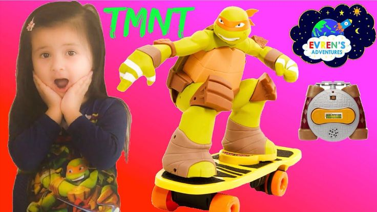 Teenage Mutant Ninja Turtles Remote Control Skateboarding Mikey toy for kids Walmart Exclusive Unboxing Evren Adventures ToysReview. Thanks for joining Evren to unbox and test this awesome TMNT Skateboarding RC exclusively from Walmart. RC Skateboarding Mikey brings the most extreme member of the Teenage Mutant Ninja Turtles to life with this innovative, new remote control vehicle. By using the remote control you can watch Mikey perform awesome moves like 360's, 720's,1-foot spins and…
