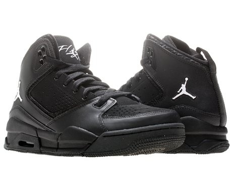 black jordan shoes for kids