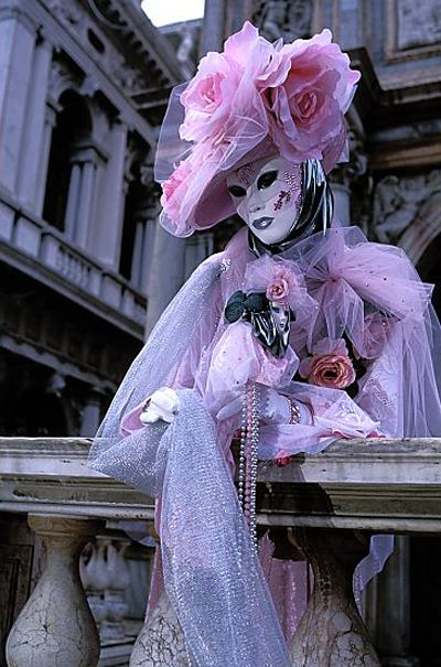 Masks in Venice are carefully drawn by hand