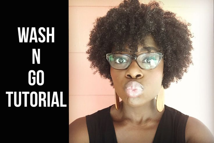 Wash n' Go Tutorial [Video] - http://community.blackhairinformation.com/video-gallery/natural-hair-videos/wash-n-go-tutorial-video/