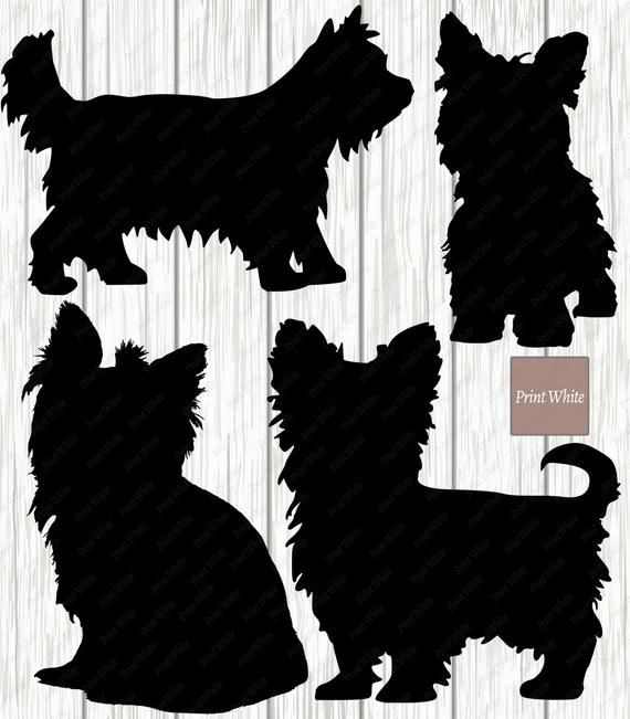 Yorkshire terrier dog wall art stencil,Strong,Reusable,Recyclable