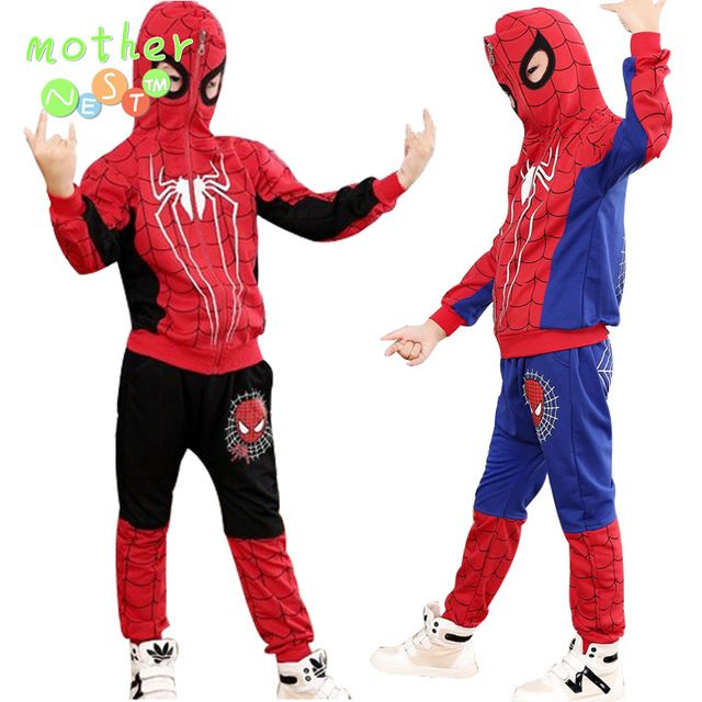 Special offer New Spiderman Baby Boys Clothing Sets Cotton Sport Suit For Boys Clothes Spring Spider Man Cosplay Costumes KIds Clothes Set just only $10.37 - 12.57 with free shipping worldwide  #boysclothing Plese click on picture to see our special price for you