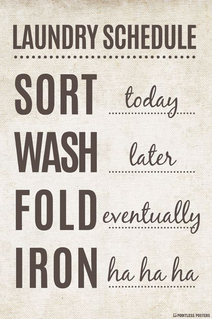 laundry schedule poster laundry room ideas pinterest poster sizes size 12 and ships. Black Bedroom Furniture Sets. Home Design Ideas