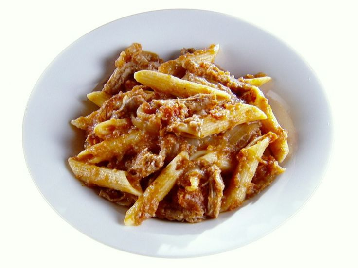 Get this all-star, easy-to-follow Penne with Pork Ragout recipe from Giada De Laurentiis