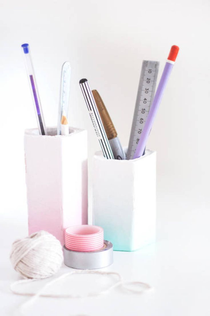 9 Clever DIY Projects That Use Plaster | Diy ombre, Clever ...