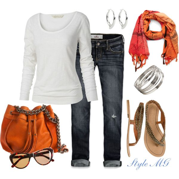 Weekend casual, created by romigr99 on Polyvore
