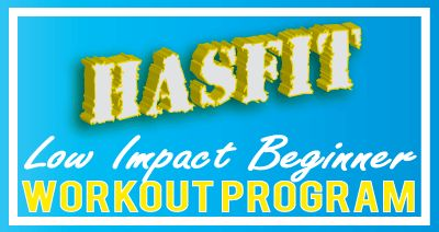 HASfit#039;s FREE 30 Day Low Impact Beginner Workout Program – Beginner Exercise…