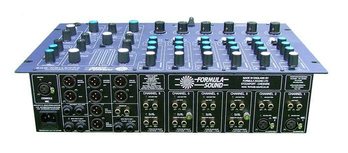 FF4000 DJ Mixer