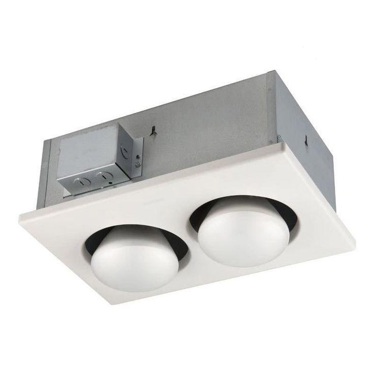 Bathroom Heat Lamp Heater Broan, Infrared Bathroom Ceiling Heaters
