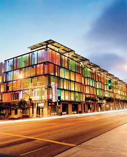 leed certified parking garage: santa monica civic center parking structure, california