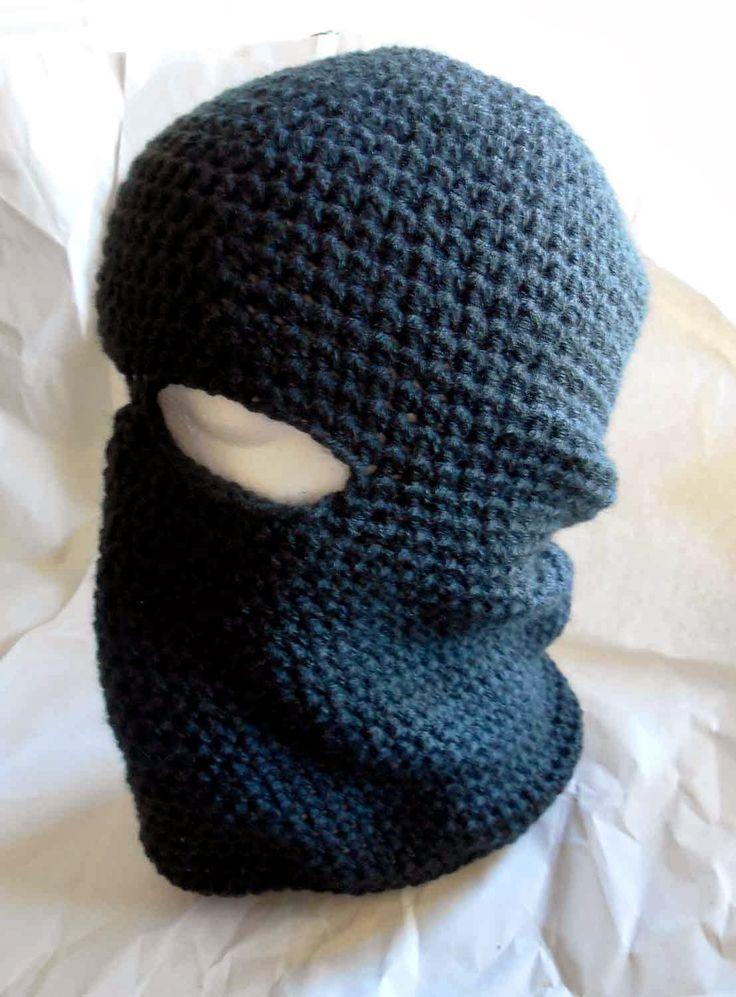Ski Mask Knitting Pattern : Free Crochet Pattern: Basic Ski Mask ~ Crochet Cauldron Crochet patterns ...