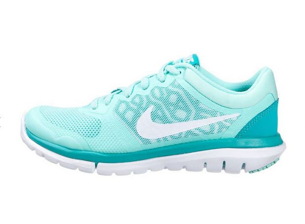 Nike Performance FLEX 2015 RUN Chaussures de running légères artisan teal/white/light retro prix promo Baskets Femme Zalando 85.00 € TTC