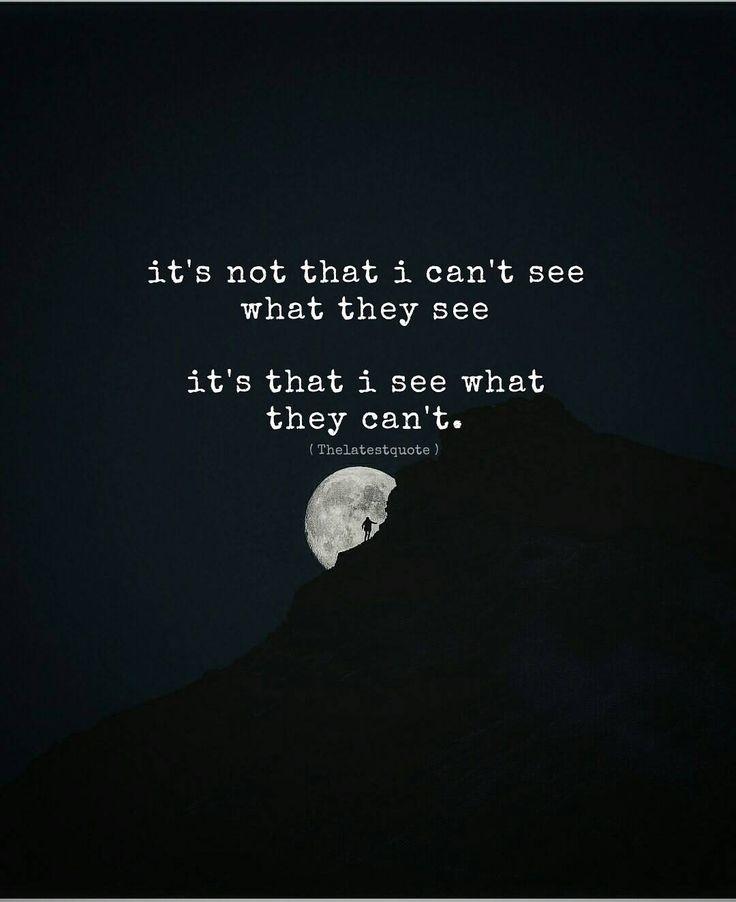 it's not that i can't see what they see  it's that i see what they can't. . #thelatestquote #quotes by theltestquote