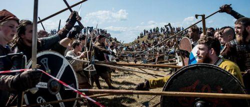 Vikingefestival at Vikingeborgen Trelleborg