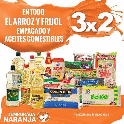 Tiendas La Comer esta semana tiene una nueva oferta principal de su Temporada Naranja 2017 (Antes Julio Regalado), donde podrás disfrutar de 3×2 en to...