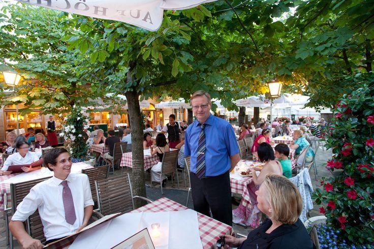 Gastgarten im Braurestaurant IMLAUER