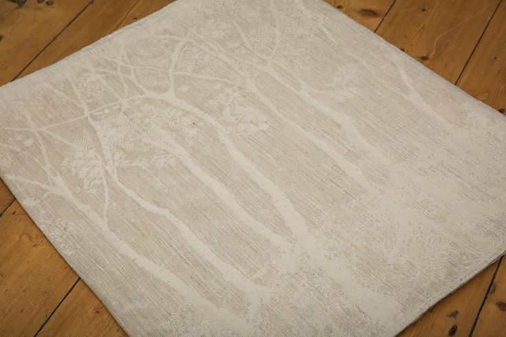 FireSpiral Dryad Frost Birches (cotton/linen/hemp/viscose)