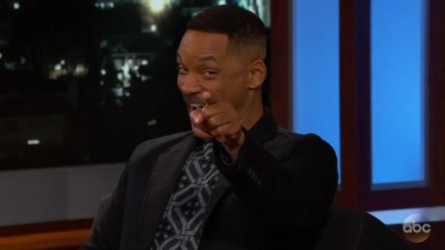 Brother, can you spare $10? Will Smith had to borrow petrol money from a fan.