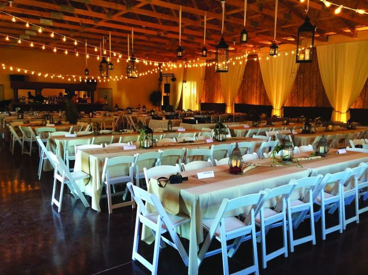 Stunning setup at Woodland Receptions and Rentals in South