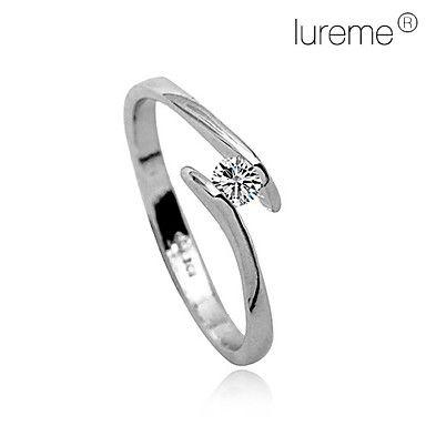 Inel Din Cristal cu diamante Incorporate  – EUR € 1.83