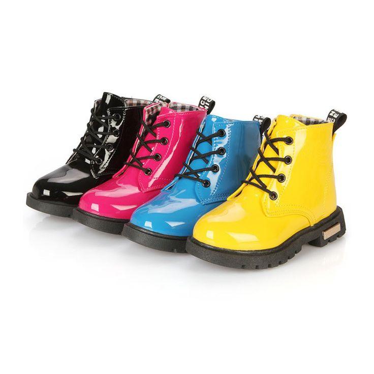 ботинки детские водонепроницаемые