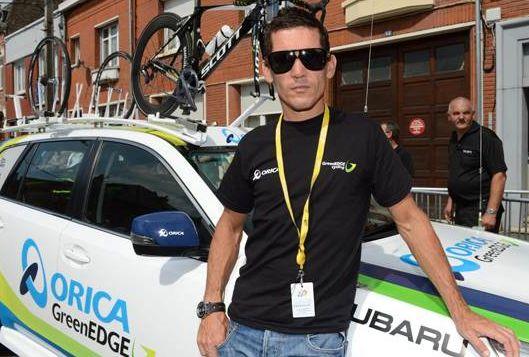 Robbie McEwen just before Tour de France 2013