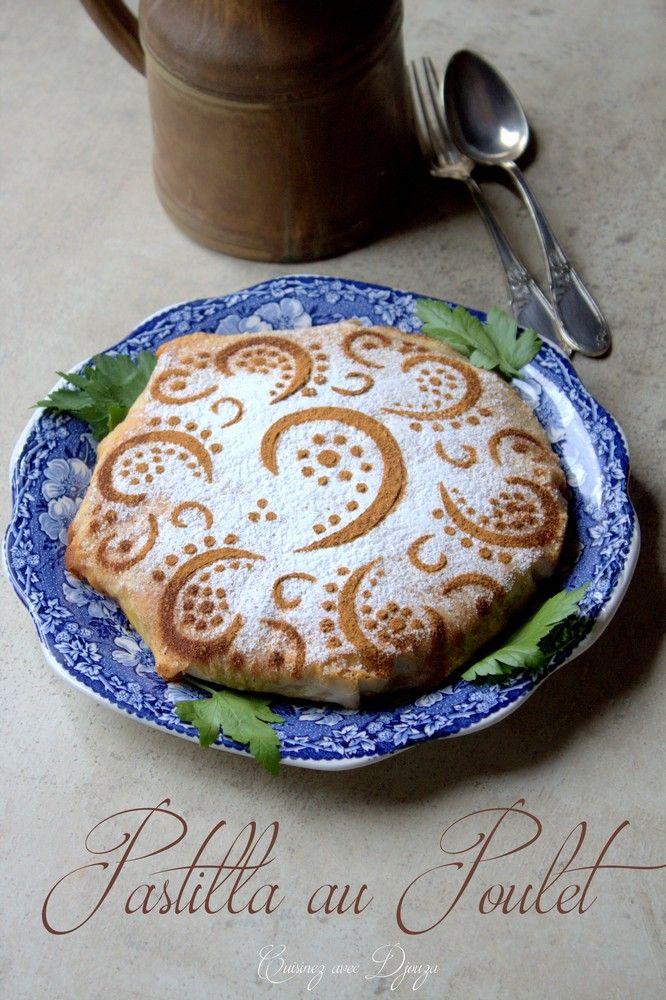 Pastilla marocaine tourte au poulet