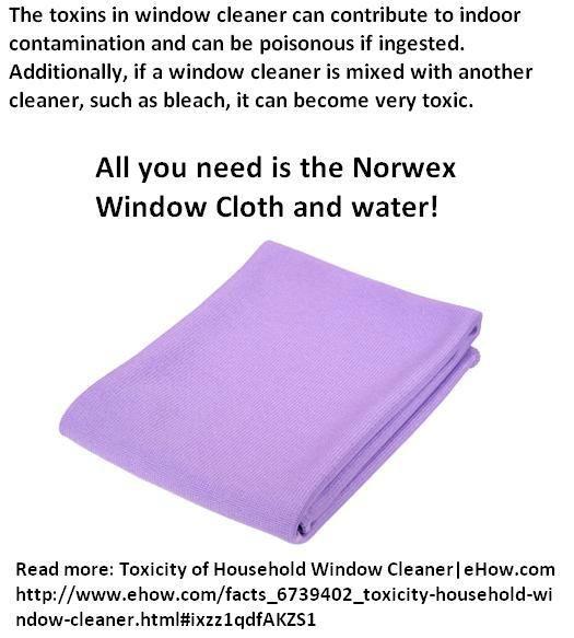 Norwex Window Cleaning