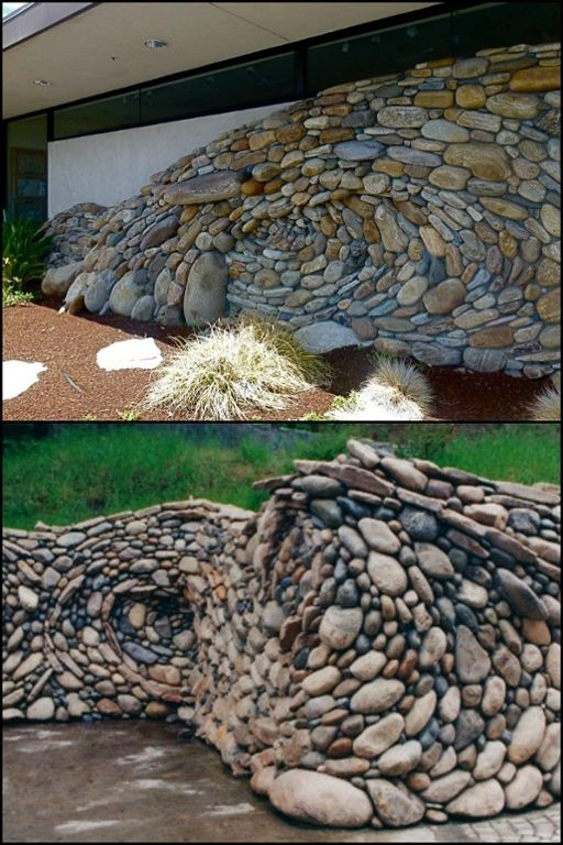 Stones that flow like waves... Amazing work by father and son, Michael and Ea Eckerman! See more by heading over to our site.