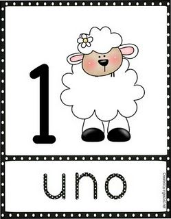 ABC and 123: Bilingual Wednesdays- Count your sheep-Part 2